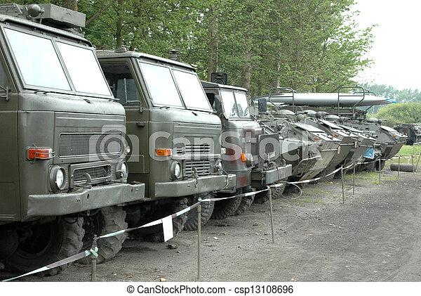 Military vehicles - csp13108696