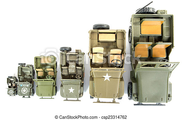 military vehicles toys - csp23314762