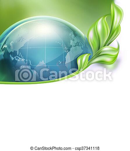 miljö- skydd, design - csp37341118