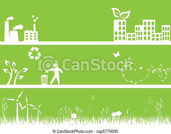 miljø, byen, grønne - csp5770000