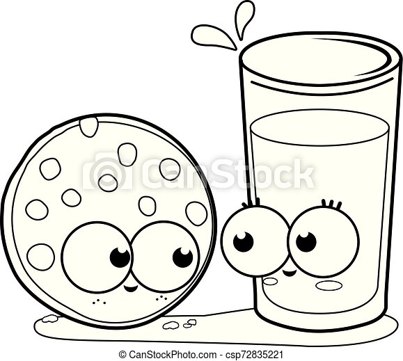 28+ Glass Of Milk Coloring Page