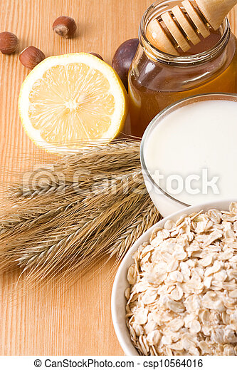 milk and honey - csp10564016