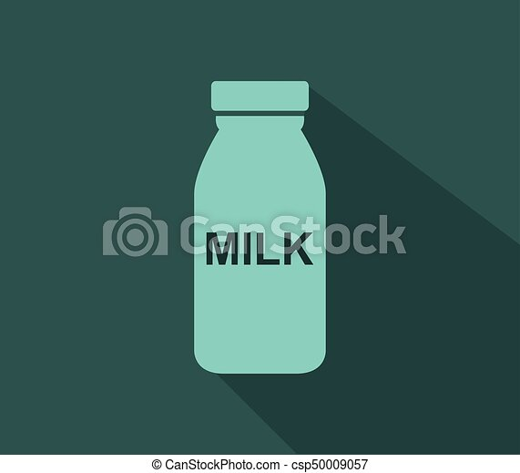 Milk bottle icon - csp50009057