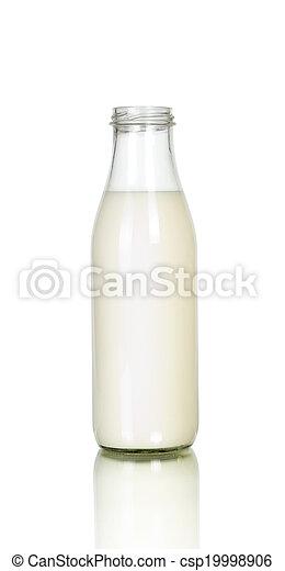 Milk bottle  - csp19998906