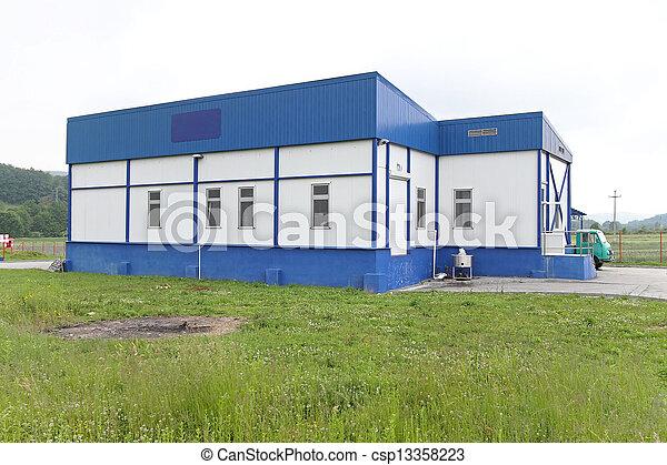 Milk factory - csp13358223