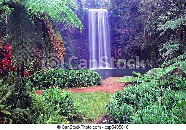 Millaa Millaa Falls - Australia - csp5405616