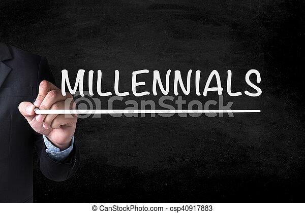 MILLENNIALS - csp40917883