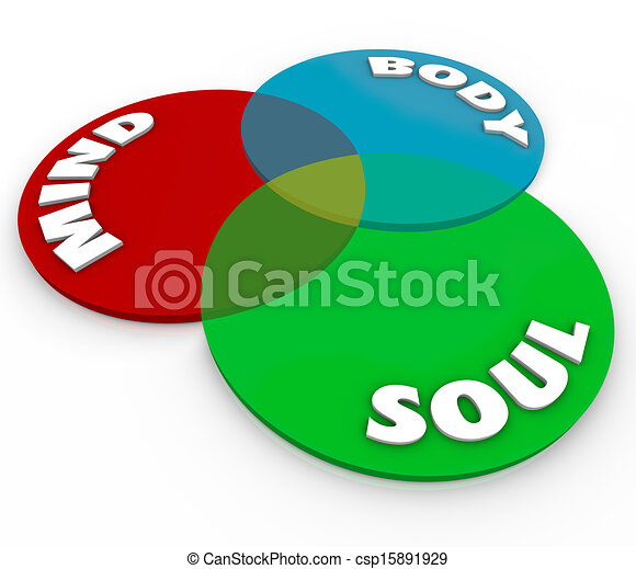 mind body soul venn diagram total wellness balance the. Black Bedroom Furniture Sets. Home Design Ideas