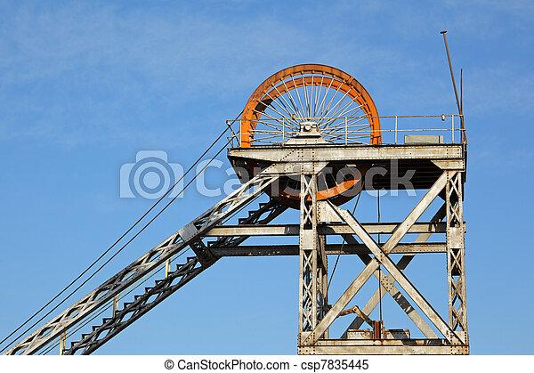 Mine shaft headgear - csp7835445