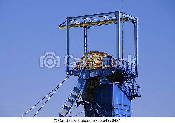 Mine shaft - csp4970421