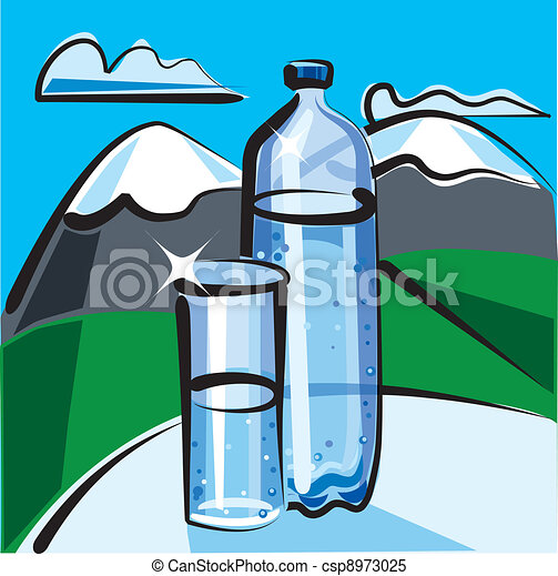 mineral water - csp8973025