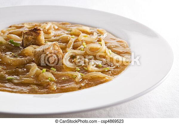 minestra, cipolla - csp4869523