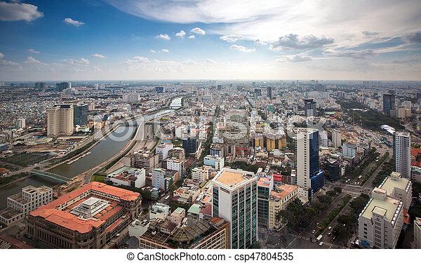 Ciudad Ho chi minh - csp47804535