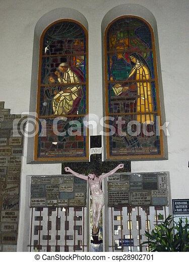 Catedral de Notre Dame en Ho Chi Minh - csp28902701