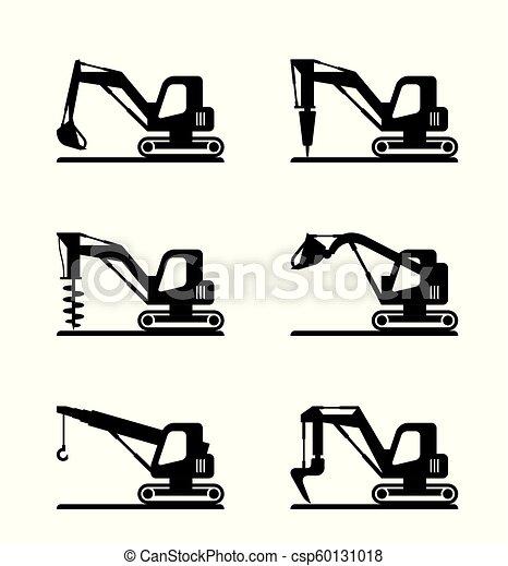 mini, maquinaria construção - csp60131018