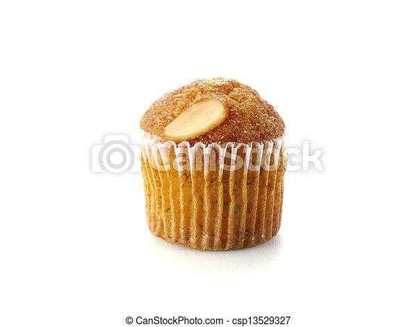 Mini Muffin cake on white background. - csp13529327