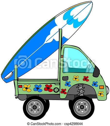 Mini Surf Truck - csp4298644