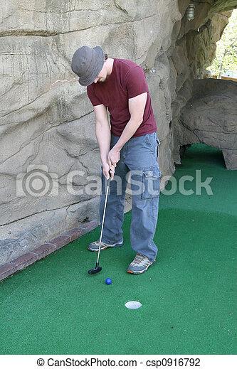 Miniature Golf - csp0916792