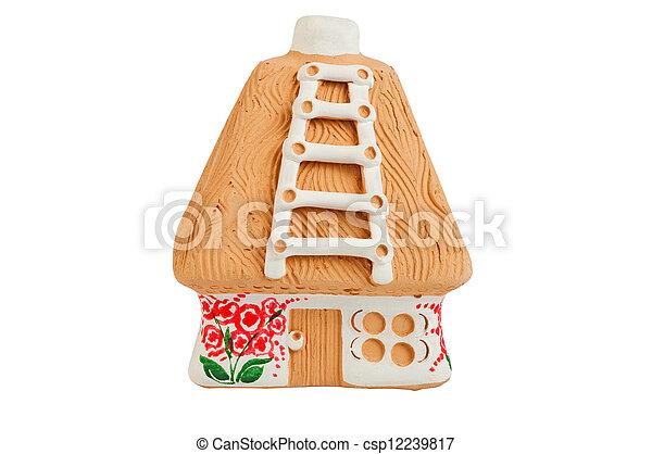 Miniature model country home (piggy bank) - csp12239817