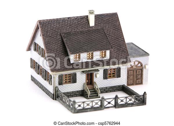Miniature model home - csp5762944