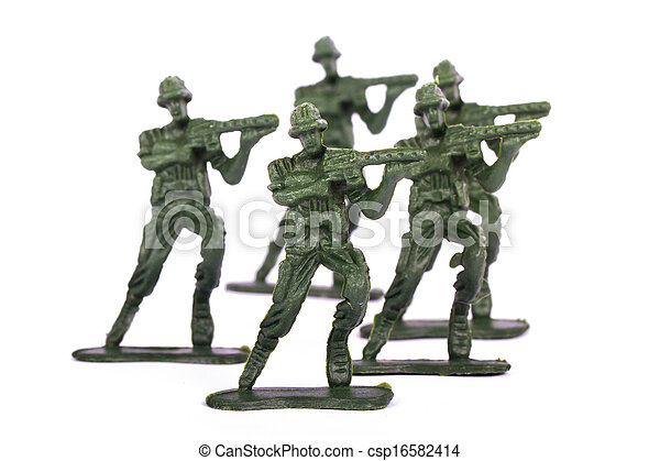 Miniature Toy Soldiers - csp16582414