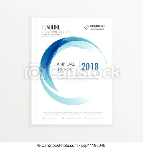 business report cover