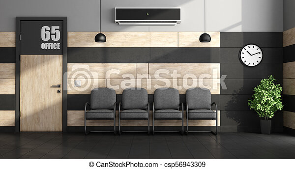 minimalist , αίθουσα αναμονής  - csp56943309