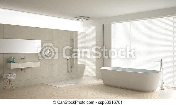 Badkamer Marmer Tegels.Minimalist Badkamer Classieke Douche Vloer Ontwerp Parket Interieur Witte Ligbad Marmer Tegels