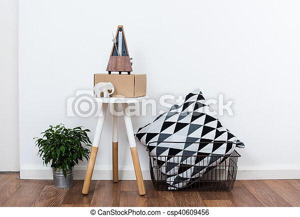 Minimalist, Dekor, Einfache , Gegenstände, Inneneinrichtung, Weißes    Csp40609456