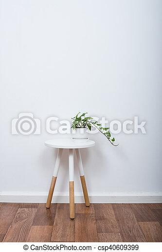 Minimalist, Dekor, Einfache , Gegenstände, Inneneinrichtung, Weißes    Csp40609399