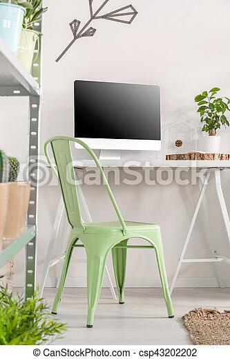 Minimalist, Farben, Arbeitsplatz, Friedlich   Csp43202202