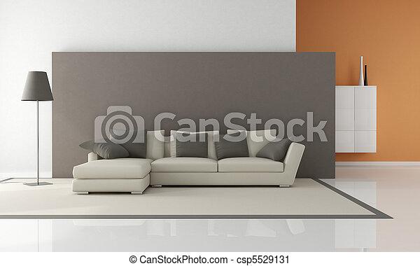 minimalist living room - csp5529131