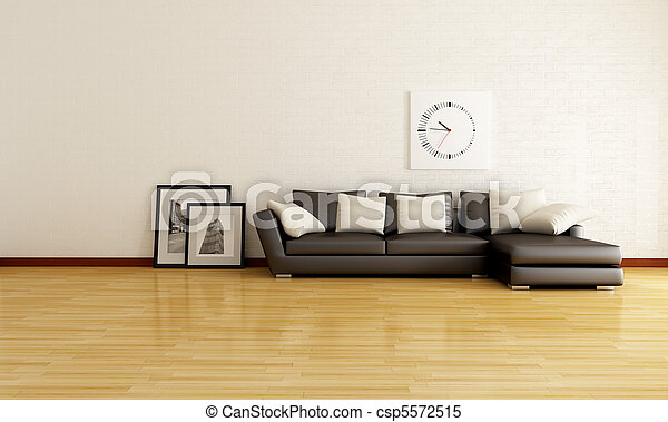 Minimalist Living Room Minimalist Lounge With White Brick Wall And Best Living Room Brown Couch Minimalist