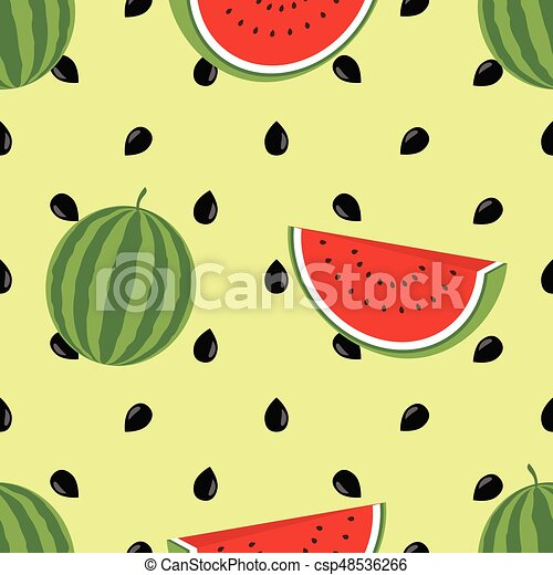 minimalist watermelon high quality clip art vector csp48536266