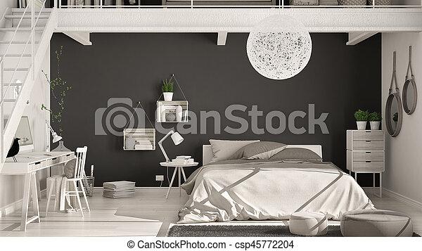 Finlandek chaise de bureau laksyt simili noir finlandek chambre