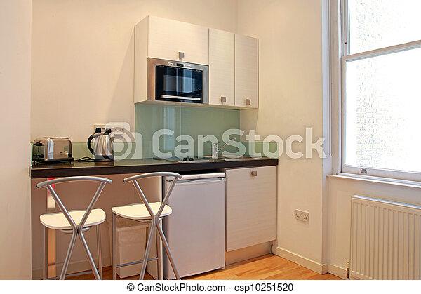 Minimalistic kitchen - csp10251520