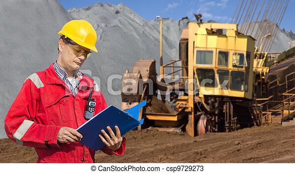 Mining foreman - csp9729273