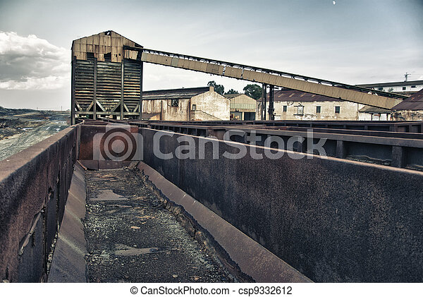 Mining industry - csp9332612