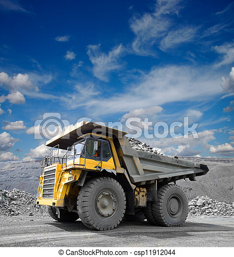 Mining Truck - csp11912044