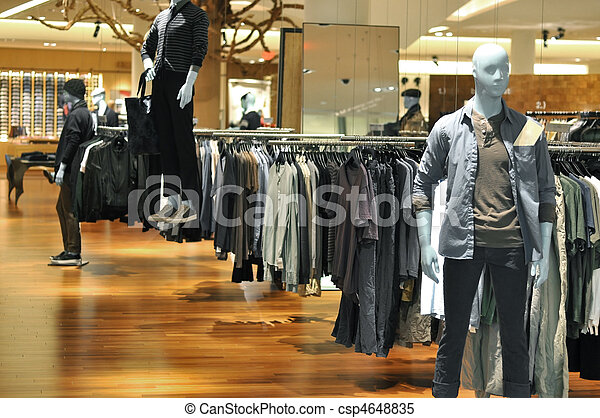 ministerstvo, móda, mannequins, sklad - csp4648835