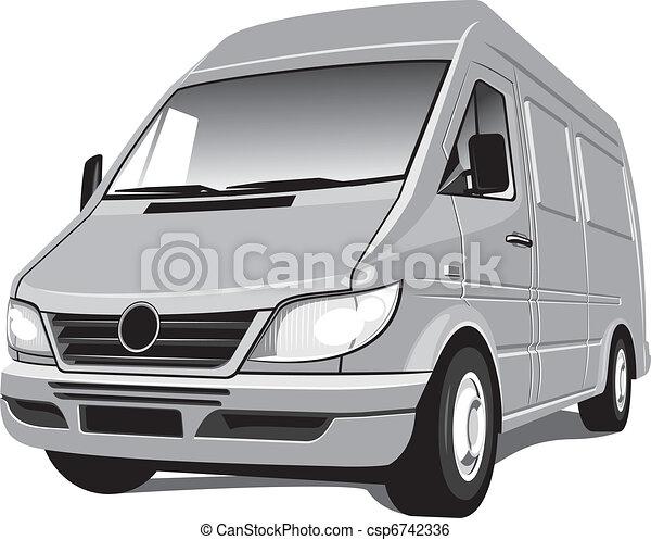 minivan - csp6742336