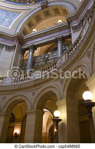 Minnesota Capitol Arches - csp5488665
