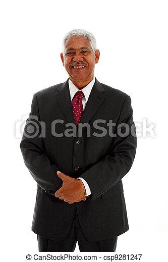 Minority Businessman - csp9281247