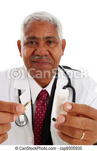 Minority Doctor - csp9305935