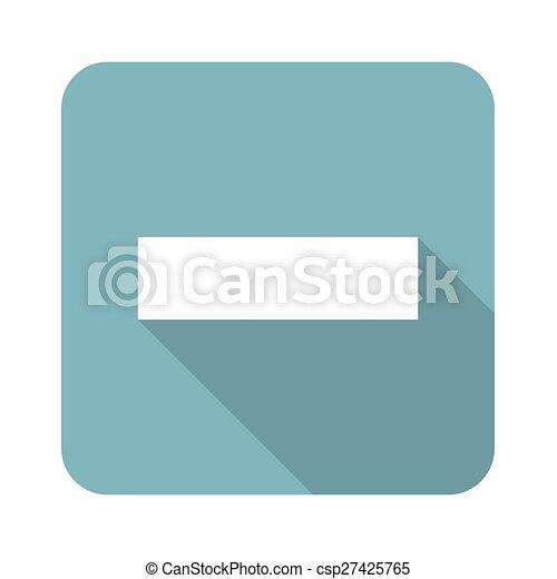 Minus icon - csp27425765