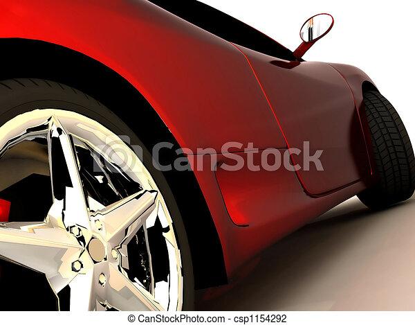 mio, sogno, automobile - csp1154292