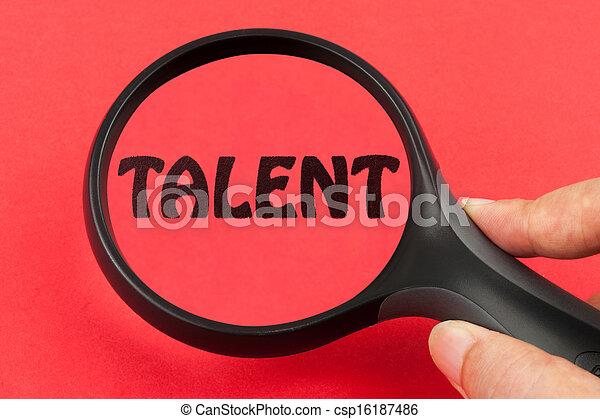 Buscando talento - csp16187486