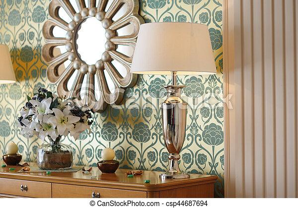 miroir mur, chambre à coucher