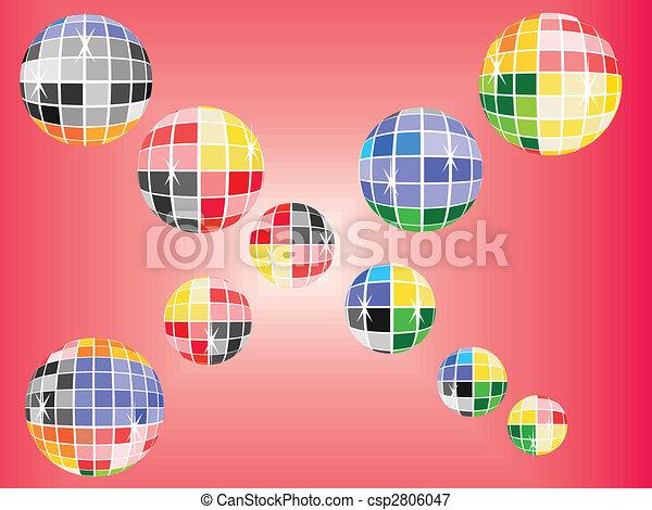 mirror balls - csp2806047