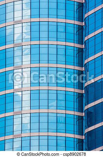 mirror glass building - csp8902678